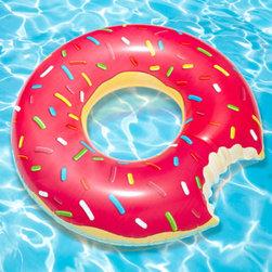 Gigantic Donut Pool Float - This is the best inner tube ever.