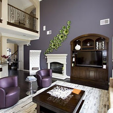 Eclectic Living Room by Contour Interior Design, LLC