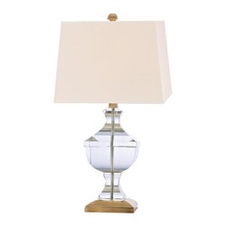 Hudson Valley Lighting - Hudson Valley Lighting L746-AGB-WS Table Lamp in Aged Brass - Hudson Valley Lighting L746-AGB-WS Clyde Hill Collection Traditional Table Lamp in Aged Brass