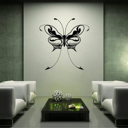 StickONmania - Long Abstract Butterfly Sticker - A nice vinyl sticker and wall art design for your home Decorate your home with original vinyl decals made to order in our shop located in the USA. We only use the best equipment and materials to guarantee the everlasting quality of each vinyl sticker. Our original wall art design stickers are easy to apply on most flat surfaces, including slightly textured walls, windows, mirrors, or any smooth surface. Some wall decals may come in multiple pieces due to the size of the design, different sizes of most of our vinyl stickers are available, please message us for a quote. Interior wall decor stickers come with a MATTE finish that is easier to remove from painted surfaces but Exterior stickers for cars,  bathrooms and refrigerators come with a stickier GLOSSY finish that can also be used for exterior purposes. We DO NOT recommend using glossy finish stickers on walls. All of our Vinyl wall decals are removable but not re-positionable, simply peel and stick, no glue or chemicals needed. Our decals always come with instructions and if you order from Houzz we will always add a small thank you gift.