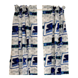 The Bibb Company - Starter Team Curtains-Drapes Window Treatment - Features: