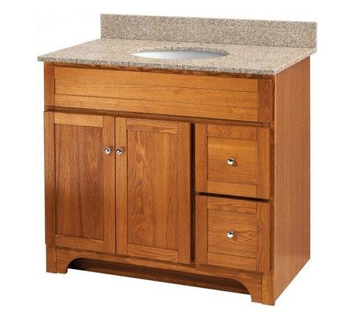 Shop Farmhouse Vanity-Width 36 To 40 Inches Bathroom ...