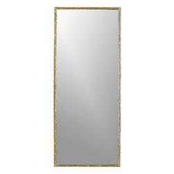 Tork Brass Rectangular Dripping Mirror - Your friends and family will appreciate a mirror for morning prep. This full-length option is not only stunning, but a practical way for your company to feel ready in the morning. The bonus? No fighting over the bathroom mirror!