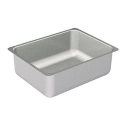 "Moen - Moen 2000 Series 20 Gauge Stainless Steel Single Bowl Sink with 6 1/2 Depth - Moen G20193 2000 Series 20 Gauge Stainless Steel Single Bowl Sink with 6 1/2"" Depth, Stainless"