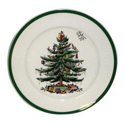 Spode - Spode Christmas Tree S3324 Dinner Plate - Spode Christmas Tree S3324 Dinner Plate