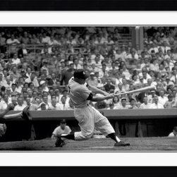 Amanti Art - Out of the Park, 1956 Framed Print by Bettmann Archive - Remember the good ol' days with this timeless photo of Out of the Park, 1956. This art piece is great for baseball fans of all ages.
