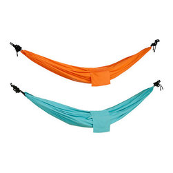 Risö Hammock - Set up these colorful hammocks in your backyard and start swinging.