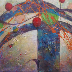 Dianna Cates Dunn - Lyric - Painting - .....if music could be seen......