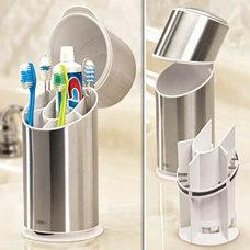 FreshFinds.com: Your Home | Bathroom | Toothbrush Organizer