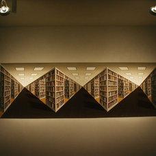 Modern Entry by 186 Lighting Design Group - Gregg Mackell
