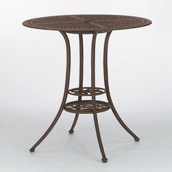Woodard Landgrave - Madrid Round Bistro Table (Beech) - Orders cannot be cancelled after 5 calendar days. If order is cancelled after 5 calendar days, a 50% restocking fee will be applied.