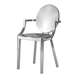 Stainless Steel Arm Chair - Stainless Steel Arm Chair