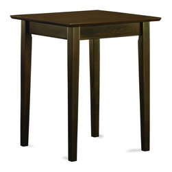Atlantic Furniture - Atlantic Furniture Shaker Printer Stand in Antique Walnut - Atlantic Furniture - Printer Stands - AH10104 - The Atlantic Furniture Shaker Printer Stand is the corner stone in any home office. Use it as a corner table to create an efficient 'L' shaped office space. Add it to a Work Table or Writing Table and expand your desktop to include a printer or scanner.
