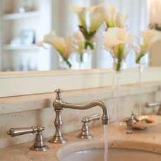 Bathroom Faucets And Showerheads by Amanda Austin Interiors