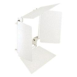 """Progress Lighting - Progress Lighting P8515-28 Recessed Lighting Series Barn Door for 5-1/2"""" to - *Adds beam control that fits specific lamp holders"""