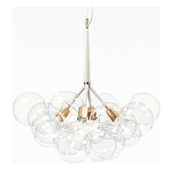 Pelle Designs - Pelle Designs | X Large Bubble Chandelier - Design by Jean and Oliver Pelle, 2012.