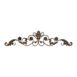 IMAX CORPORATION - Allegro Wall Decor - Add elegance to walls and art work with this allegro metal scroll wall decor. Find home furnishings, decor, and accessories from Posh Urban Furnishings. Beautiful, stylish furniture and decor that will brighten your home instantly. Shop modern, traditional, vintage, and world designs.