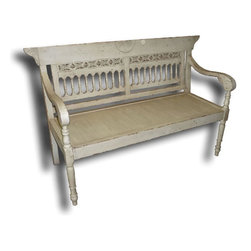 EuroLux Home - New Bench Sturdy Construction West Indies - Product Details