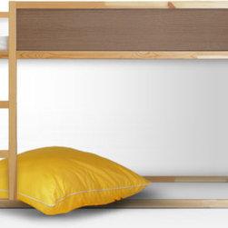 IKEA KURA Bunk Bed w/PANYLed Inserts -