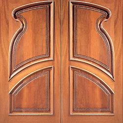 """Prehung Double Door, Hand Carved Arch Panels in Mahogany - SKU#Carved-13_2BrandAAWDoor TypeExteriorManufacturer CollectionCarved & MansionDoor ModelDoor MaterialWoodWoodgrainMahoganyVeneerPrice2840Door Size Options2(30"""") x Height"""" (5'-0"""" x 6'-8"""")  $02(32"""") x Height"""" (5'-4"""" x 6'-8"""")  $02(36"""") x Height"""" (6'-0"""" x 6'-8"""")  +$202(36"""") x Height"""" (6'-0"""" x 7'-0"""")  +$7002(30"""") x Height"""" (5'-0"""" x 8'-0"""")  +$9802(32"""") x Height"""" (5'-4"""" x 8'-0"""")  +$9802(36"""") x Height"""" (6'-0"""" x 8'-0"""")  +$1000Core TypeSolidDoor StyleDoor Lite StyleDoor Panel Style2 Panel , Hand Carved Panel , Raised Moulding , Arch PanelHome Style MatchingMediterranean , Victorian , Old World , Elizabethan , Pueblo , SuburbanDoor ConstructionTrue Stile and RailPrehanging OptionsPrehungPrehung ConfigurationDouble DoorDoor Thickness (Inches)1.75Glass Thickness (Inches)Glass TypeGlass CamingGlass FeaturesGlass StyleGlass TextureGlass ObscurityDoor FeaturesDoor ApprovalsDoor FinishesDoor AccessoriesWeight (lbs)850Crating Size25"""" (w)x 108"""" (l)x 52"""" (h)Lead TimeSlab Doors: 7 daysPrehung:14 daysPrefinished, PreHung:21 daysWarranty1 Year Limited Manufacturer WarrantyHere you can download warranty PDF document."""