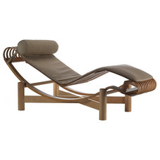 modern outdoor chaise lounges by Design Within Reach