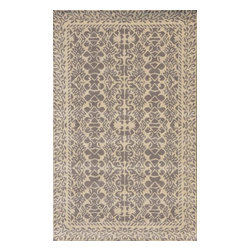 """Dynamic Rugs - Dynamic Rugs Sapphire 4944-199 (Ivory, Grey) 3'6"""" x 5'6"""" Rug - This Hand Tufted rug would make a great addition to any room in the house. The plush feel and durability of this rug will make it a must for your home. Free Shipping - Quick Delivery - Satisfaction Guaranteed"""