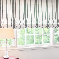 DrapeStyle, Inc. - Newport Beach - Custom Roman Shades and Blinds in Robert Allen Fabric at DrapeStyle.  Custom Roman Shades are available in any of our over 300 Fabric Options form Schumacher, Kravet, Robert Allen, Duralee, Sunbrella and our own DrapeStyle line of Cotton and Silk!