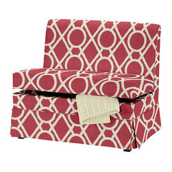 Coventry 48-inch Storage Bench - To organize and save space, look for furniture pieces that already have built-in storage. I love this bench from Ballard Designs that you can customize with the fabric of your choice.