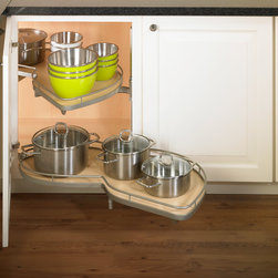 LeMans Blind Corner Cabinet - Clever Storage US by Kesseböhmer