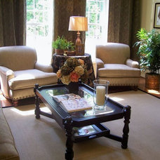 Traditional Family Room by Creative Group Interiors