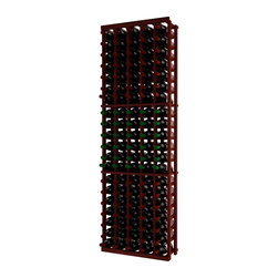 Wine Cellar Innovations - Traditional Series 105 Individual Bottle Rack - The Redwood & Pine 5 Column Individual Bottle wine rack is 21 rows high and stores 105 wine bottles with 5 bottles on top. Assembly required.