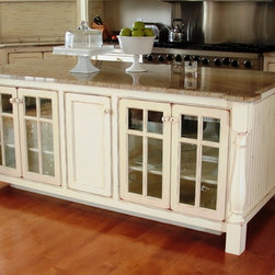 Superior Cabinetry - Custom Kitchen Islands - Custom Kitchen Islands - Painted, Distressed.