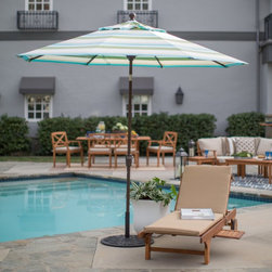 Treasure Garden - Treasure Garden 9 ft. Fashion Aluminum Push Button Tilt Patio Umbrella - UM9200- - Shop for Patio Umbrellas from Hayneedle.com! Keep cool and comfortable this summer with the Treasure Garden 9 ft. Fashion Aluminum Push Button Tilt Patio Umbrella. This stylish and long-lasting design ensures you'll be able to enjoy your time outdoors even on the hottest days. It features an expansive 9-foot polyester shade in your choice of color reinforced with 1.5-inch aluminum ribs and a matching aluminum pole. The Obravia 100% solution-dyed fabric is guaranteed for four years against fading.About Treasure GardenWith locations in Baldwin Park CA in the U.S.A. and in Ningbo China Treasure Garden has evolved into the largest shade products manufacturer in the world. As a small business in 1984 Treasure Garden built a strong foundation of attributes focusing on innovation quality and value. Today Treasure Garden still emphasizes those principles that determined the domestic and international success of the company.