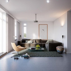 Open, minimalist home