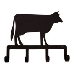 Wrought Iron Hooks, Cow