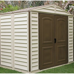 Duramax Building Products Duramax Woodside Vinyl Shed