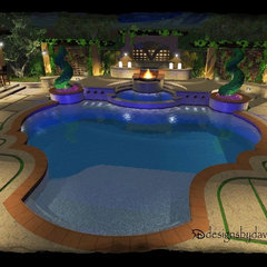 mediterranean exterior by 3D Designs by David