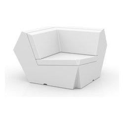 Vondom - Vondom   Faz Sofa Corner Unit 90 - Design by Ramon Esteve, 2012
