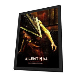 Silent Hill 11 x 17 Movie Poster - Style L - in Deluxe Wood Frame - Silent Hill 11 x 17 Movie Poster - Style L - in Deluxe Wood Frame.  Amazing movie poster, comes ready to hang, 11 x 17 inches poster size, and 13 x 19 inches in total size framed. Cast: Christopher Britton
