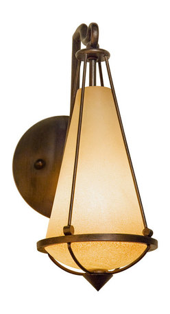 Varaluz - Varaluz 143K01 Two-If-By-Sea 1 Light Wall Sconces in Steeplechase - This 1 light Sconce from the Two-if-by-sea collection by Varaluz will enhance your home with a perfect mix of form and function. The features include a Steeplechase finish applied by experts. This item qualifies for free shipping!