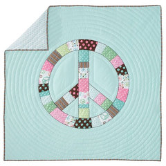 eclectic kids bedding by PBteen