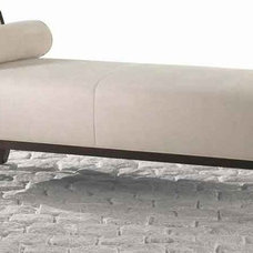 Modern Futons Lumos One Arm Bench With Bolster Pillow By Cabot Wrenn