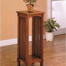 Amazon.com: Coaster Mission Style Plant Stand: Furniture & Decor
