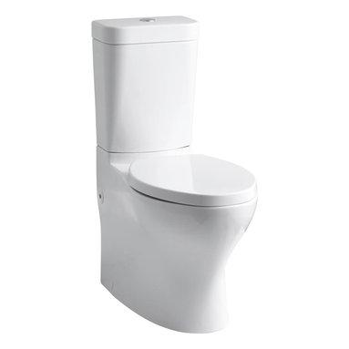 KOHLER - KOHLER K-3753-0 Persuade Circ Comfort Height Two-Piece Elongated Toilet - KOHLER K-3753-0 Persuade Circ Comfort Height Two-Piece Elongated Toilet in White