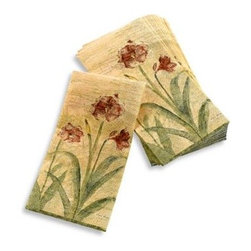 Croscill - Croscill Amaryllis Guest Towel - These guest towels are beautiful and versatile. Use them as guest towels in a bathroom or as buffet napkins when you entertain.