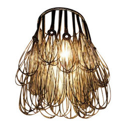 ecofirstart - Wire Whisk Chandelier - Perfect for home chefs and art aficionados alike, this playful use of recycled wire whisks proves that this chandelier is just as much as it is about function. As tempting as it is, though, don't try out a whisk for your next pastry pie dough creation. Leave this chandelier intact for your kitchen or dining room.
