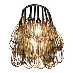 Wire Whisk Chandelier
