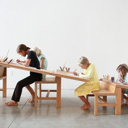 'Growth Table' by TimDurfee & IrisAnnaRegn - Probably the coolest table I've ever seen, the growth table is designed to inspire the entire family. Children will love drawing and learning side by side with teens and adults.