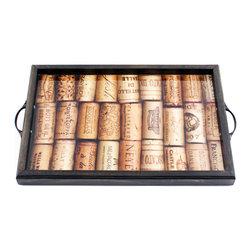 My Méz - Wine Corks Tray/Wall Art - It's a tray; It's wall art. It's BOTH, and It's Made In the USA!