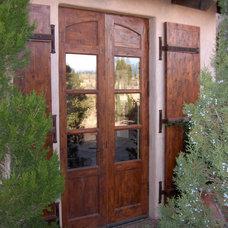 Mediterranean Front Doors by Woodsmith Custom Millwork